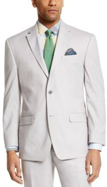 Classic-Fit Light Gray Suit Separate Jacket