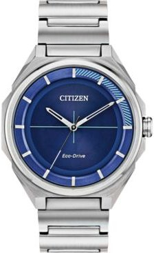 Drive From Citizen Eco-Drive Men's Stainless Steel Bracelet Watch 42mm