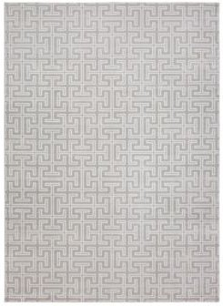 Closeout! Hotel Collection Versal Hv-23 Gray and Ivory 4' x 6' Area Rug