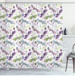 Dragonfly Shower Curtain Bedding
