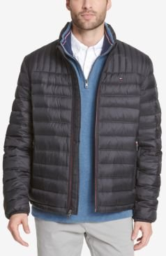 Big & Tall Packable Down Puffer Coat