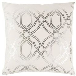 "20"" x 20"" Geometrical Design Down Filled Pillow"
