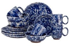 Blue Moon 16Pc Dinnerware Set