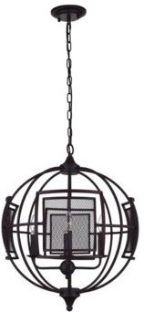 Closeout! Cwi Lighting Alistaire 4 Light Chandelier
