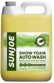 Premium Snow Foam Pressure Washer Rated Car Wash Soap and Cleaner, Pineapple Scent 1 Gallon