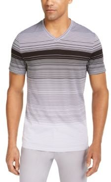 Ombre Striped V-Neck T-Shirt, Created for Macy's