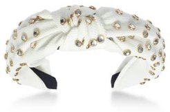 Inc Gold-Tone Crystal Knotted Headband, Created for Macy's