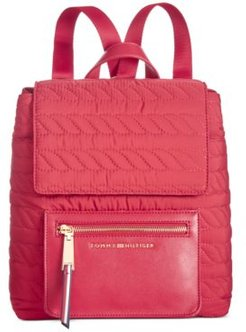 Clara Quilted Convertible Backpack