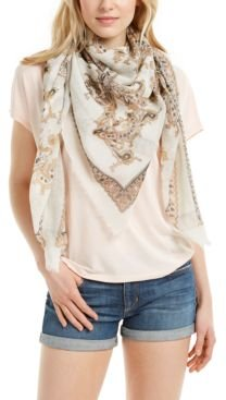 Swirling Paisley Square Scarf