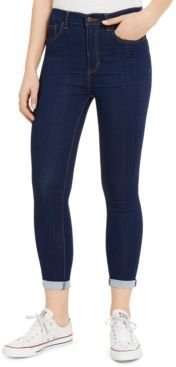 Curvy High-Rise Roll-Cuff Jeans