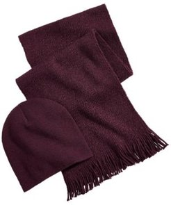 Beanie & Scarf Gift Set, Created for Macy's