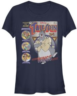 TaleSpin Tales Cover Short Sleeve T-shirt