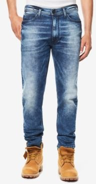 Athlete Relaxed Tapered-Fit Stretch Jeans, Created for Macy's