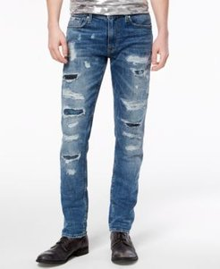 Slim Tapered Fit Stretch Jeans