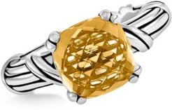 Citrine Ring (4 ct. t.w.) in Sterling Silver