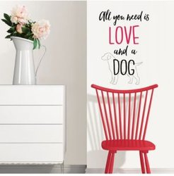 Love And A Pet Wall Quote