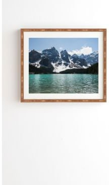 Lake and Mountains Framed Wall Art