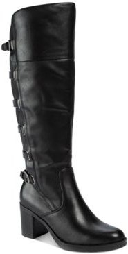 Gyllian Wide Calf Boots Women's Shoes