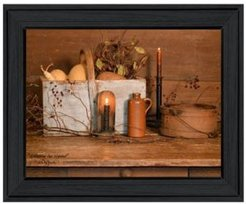 "Gathering the Harvest by Billy Jacobs, Ready to hang Framed Print, Black Frame, 19"" x 15"""
