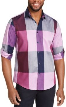 Plaid Long-Sleeve Shirt, Classic Fit, Created for Macy's