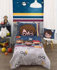 Harry Potter Wizards In Training 4-Piece Toddler Bedding Set Bedding