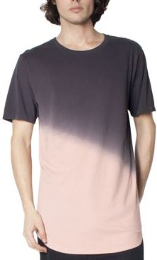 Angled Dip Dyed T-Shirt