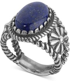 Lapis Lazuli Ring (5-1/5 ct. t.w.) in Sterling Silver
