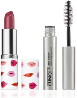 Receive a Free Valentine's Day lash and lip duo with $75 Clinique purchase!