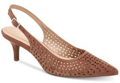 Step 'N Flex Babbsy Pointed-Toe Slingback Pumps, Created for Macy's Women's Shoes