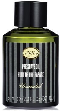 The Art of Shaving Men's Unscented Pre-Shave Oil, 2 oz.