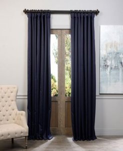 """Extra Wide Blackout 100"""" x 120"""" Curtain Panel"""