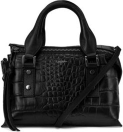 Rachel Leather Top Handle Satchel