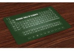 Periodic Table Place Mats, Set of 4