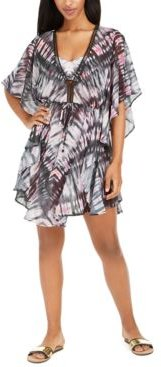 Tie-Dye Caftan Swim Cover-Up, Created for Macy's Women's Swimsuit