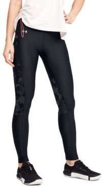 HeatGear Camo-Inset Compression Leggings
