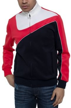 Curved Colorblocked Track Jacket