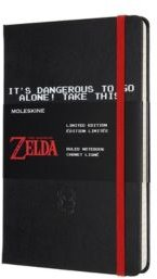 the Legend of Zelda Hard Cover Ruled Large Limited Edition Notebook