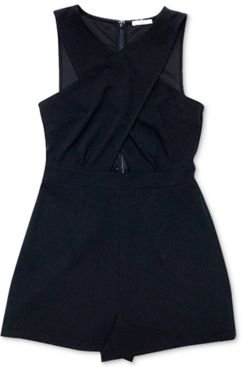 Cross-Front Romper, Created for Macy's