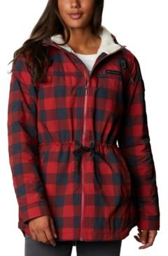 Chatfield Hill Plaid Fleece-Lined Utility Jacket