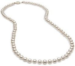 "18"" Cultured Freshwater Pearl (5mm) Strand in 14k Gold"