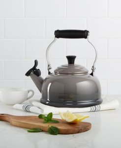 Classic Enamel on Steel 1.7 Qt. Whistling Tea Kettle