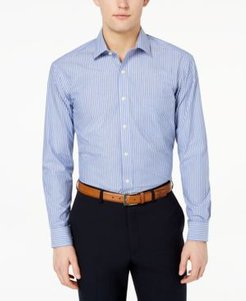 Classic/Regular Fit Stripe Dress Shirt, Created for Macy's