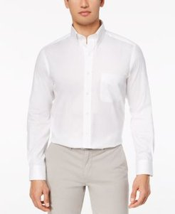 Performance Wrinkle-Resistant Pinpoint Solid Dress Shirt, Created for Macy's