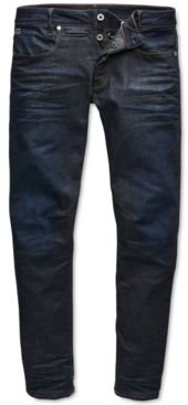 Slim-Fit Stretch Dark Aged Jeans, Created for Macy's