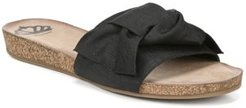 Moshi Slide Flat Sandals Women's Shoes