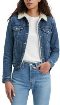 Original Sherpa Trucker Denim Jacket