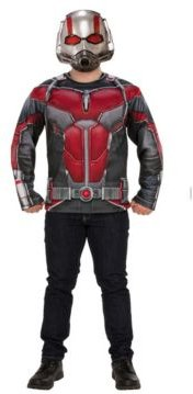 BuySeason Men's Marvel Ant-Man and The Wasp Ant-Man Costume Top Set