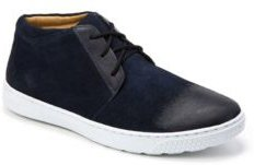 Plain Toe 3 Eyelet Chukka Boot Men's Shoes