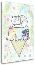 """Sprinkles On Top by Sarah Ogren Giclee Print on Gallery Wrap Canvas, 25"""" x 33"""""""