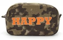Camouflage Happy Cosmetic Bag
